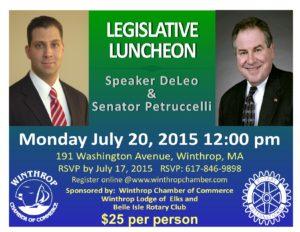 2015 Legislative Luncheon flyer