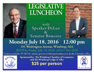 2016 Legislative Luncheon flyer
