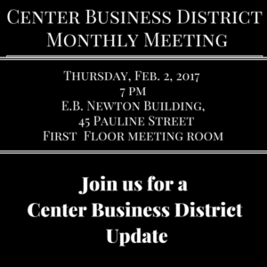 Center Business District Meeting 02 02 17 edit